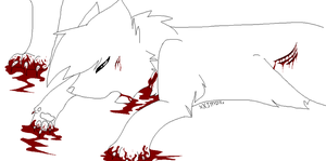 Death Lineart- Warrior Cats by M0LTEN-R0SE