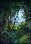 Summer Forest - book cover by Azot2014