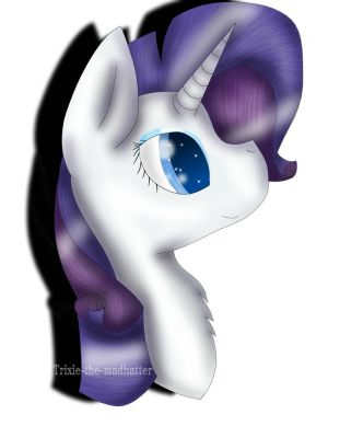 Rarity by Trixie-the-MadHatter