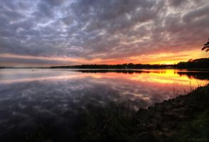 the sky mirror - Tychy by shade-pl