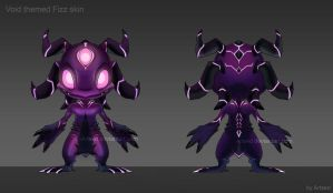 Void themed Fizz concept by Artsed