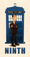 09 Ninth Doctor by Erich0823