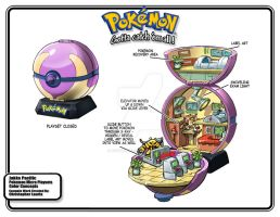 Pokemon Center Playset
