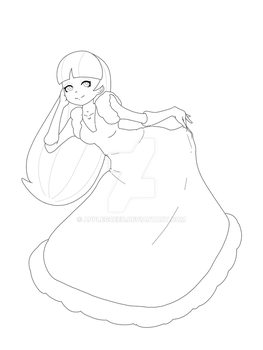 Pacifica - Line art by applegreed