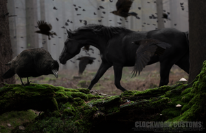 The Crow by Clockwork24