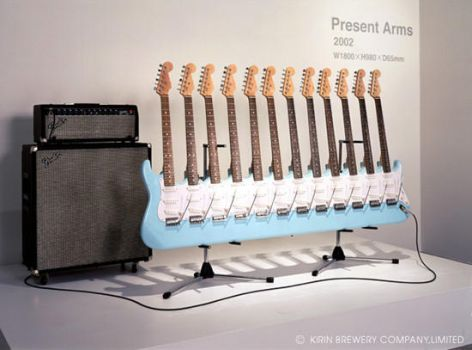 For the REAL guitar heroes... by FlabbelWabbel