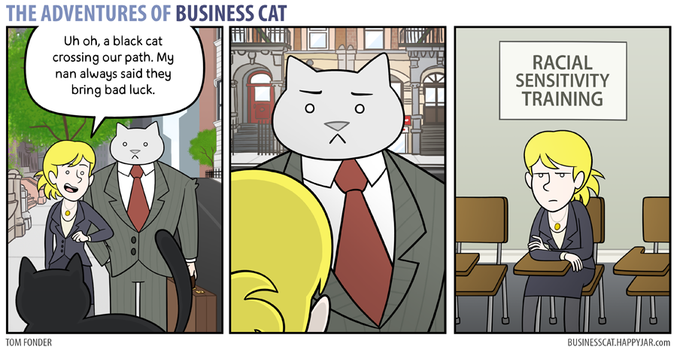 The Adventures of Business Cat - Superstition by tomfonder