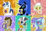 BUTTONS!  Set 4 of ???? Proper Doctor Neckwear! by Dreatos