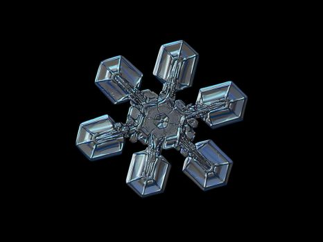 Snowflake macro photo: High voltage II by ChaoticMind75