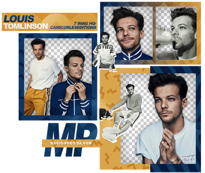 PACK PNG 949| LOUIS TOMLINSON by MAGIC-PNGS