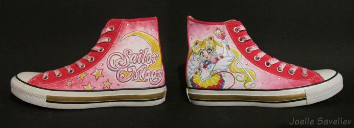 Sailor Moon - Chucks for Fiver by walnetto