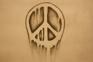 My Peace Sign Tattoo by TripL685704