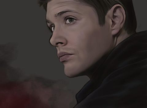 Dean Winchester by yamamotoo