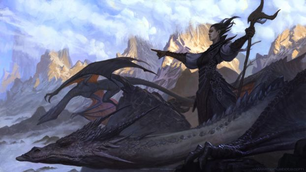 Dragon Charge + Gumroad Painting  Demo by MariusBota