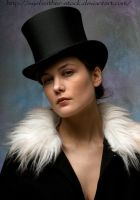 tophat unknown expression by eyefeather-stock