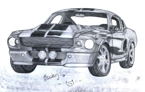Eleanor - Ford Mustang Shelby GT500 '67 by Rebcsy