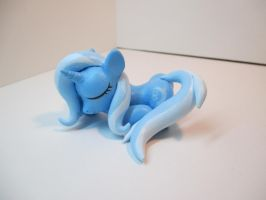 Sleeping Trixie, Testing out Etsy! by EarthenPony