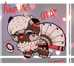 [OTA - Closed] Valentine's Caudaeri Adoptable by GeXeHeNNa