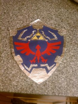 Hylian Shield by Introvert-Phobia