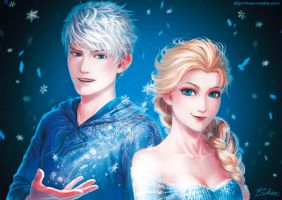 Jack and Elsa by xRheax