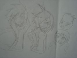 RC9GN doodles by ThunderStormZero