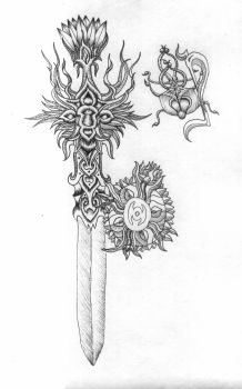 Elvish weaponry by Nimzar