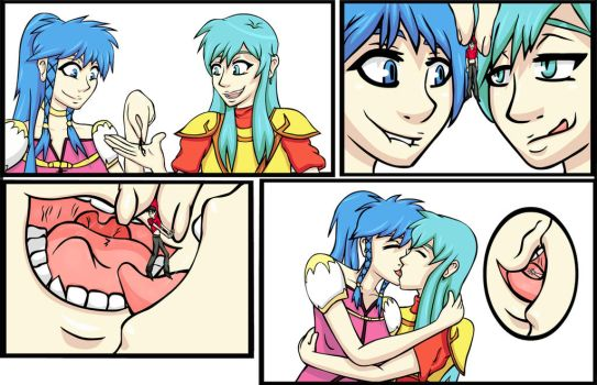 Eirika and Tana Vore Commission by jj-psychotic