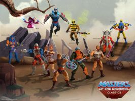 Masters of the Universe Poster 1 by clementmeriguet
