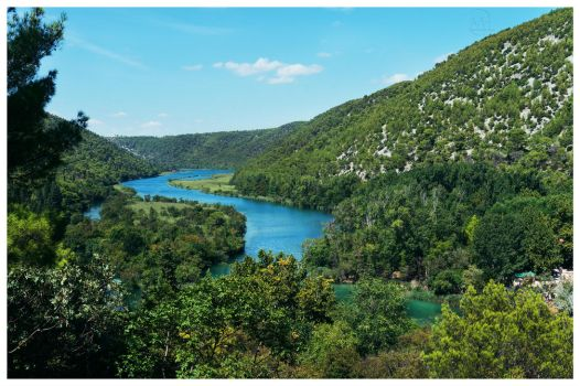 Krka River by hauerli