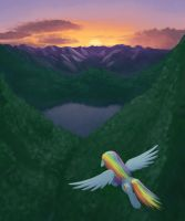 Pony Flies East to Bring Great Victory Appledashis by lurarin