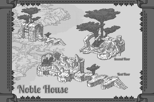 Noble House by AugustinasRaginskis