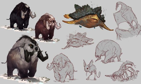 Creature concept by Coffeeater