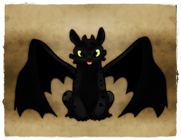 HTTYD: Toothless by YukiHyo