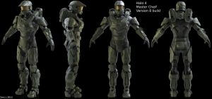 Halo 4 Master Cheif (collab) by Dutch02