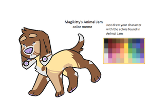 [ANIMAL JAM Color Meme by Magikitty] why by prince-sock