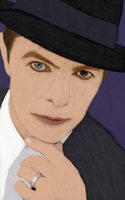 Bowie's Eyes by chaiiro03
