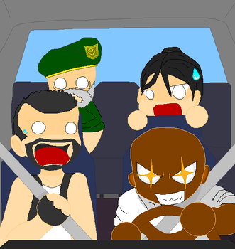 Left 4 Dead Driving by psyclonius