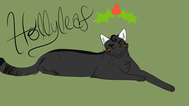 Hollyleaf -Little Fang- by Raavenna