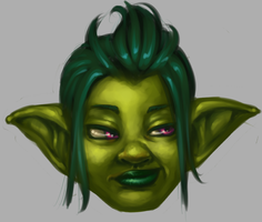 Glitz the Goblin by Dogslug