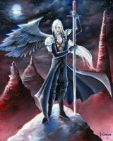 Sephiroth - One Winged Angel by sephiroths-muse