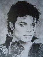 Michael Jackson drawing by loaded88