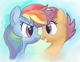 Sister Boops by zapplebow