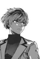 Transparent Sasaki Haise 2 by Background-chan