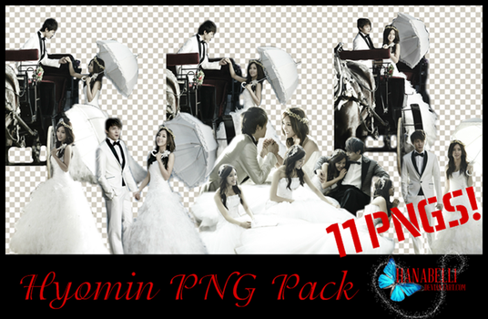 Hyomin Wedding Dress PNG Pack by HanaBell1