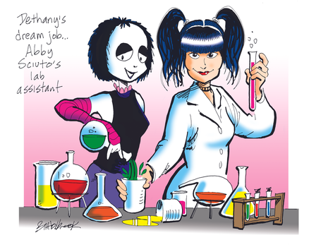 Dethany and Abby Sciuto by BHolbrook