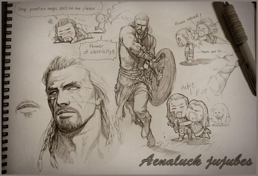 Why dragonborn needs his housecarl. by aenaluck