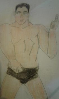 Stirling Mallory Archer in all his glory. by Ashtasticle