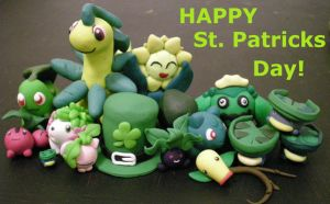 St Pattys is for Grass pokemon