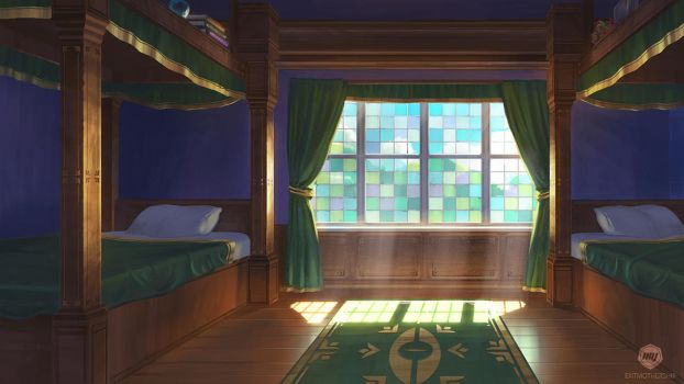Gossamer Academy: Dorm Room by ExitMothership