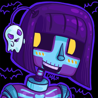 Skelly-Phone by FoxinRamen